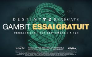 Destiny 2 : Renégats free