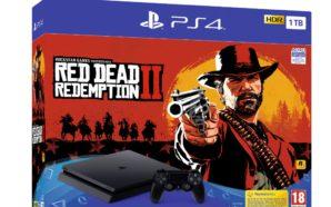 Des packs PS4 et PS4 Pro Red Dead Redemption 2…