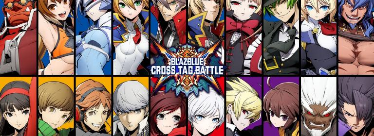 Fiche de Jeu Blazblue cross tag battle