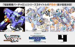 La trilogie Virtual-ON et son Twin Stick atterrissent sur PS4
