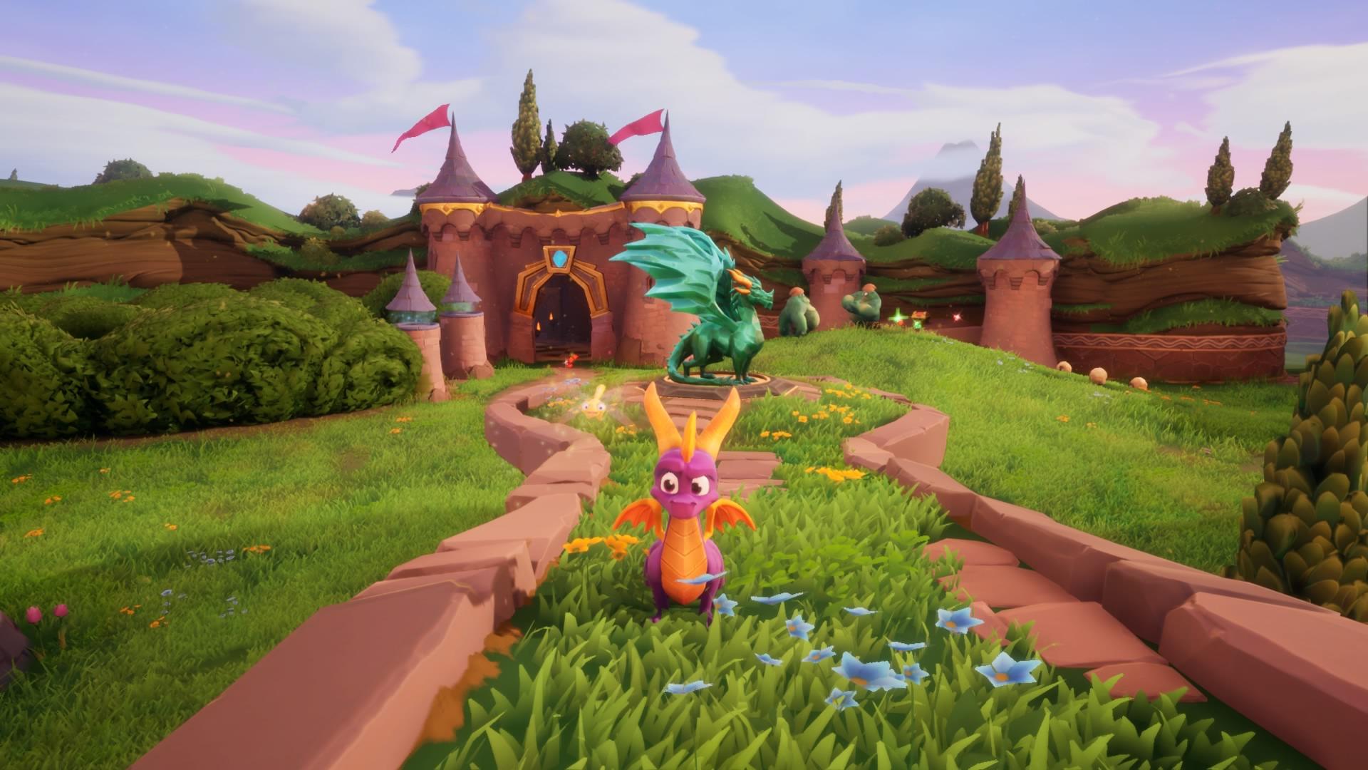 Test Spyro Reignited Trilogy PS4