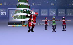 Vous voulez un Père Noël qui danse sur votre PS4…