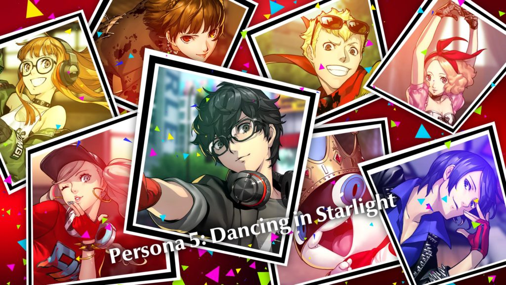 Persona 5: Dancing in Starlight wallpaper