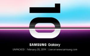 Samsung Galaxy S10 : Une révélation le 20 Février