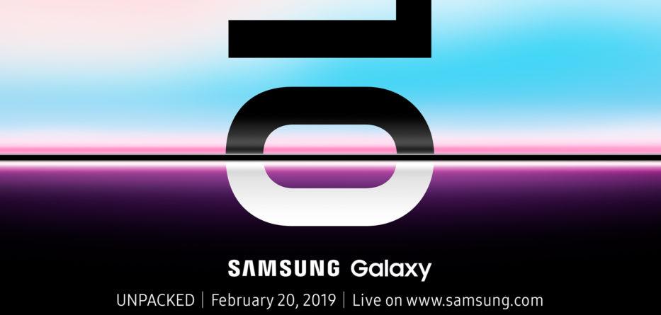 Teaser Galaxy S10