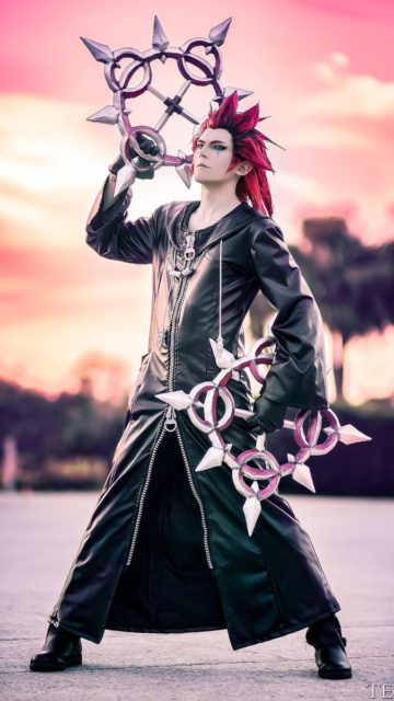 Kingdom Hearts 358/2 Days - Axel © ModeratelyOK