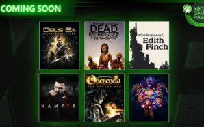 Xbox Game pass: 5 nouveaux jeux en plus d'ici fin…