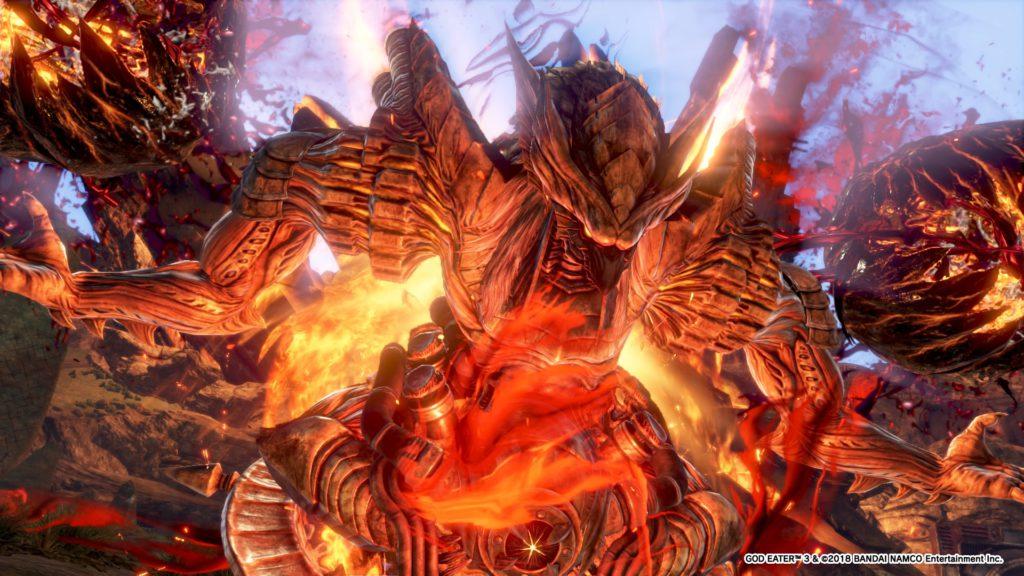 god eater 3 ash aragami de cendre ra