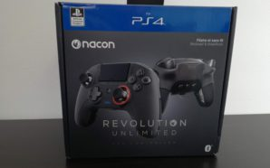 Test : Nacon Revolution Unlimited Pro Controller – L'ultime manette…