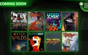 Xbox Game Pass : voici les 8 prochains jeux (The…