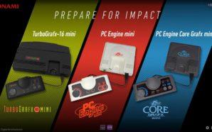 E3: Konami annonce la PC Engine Mini!