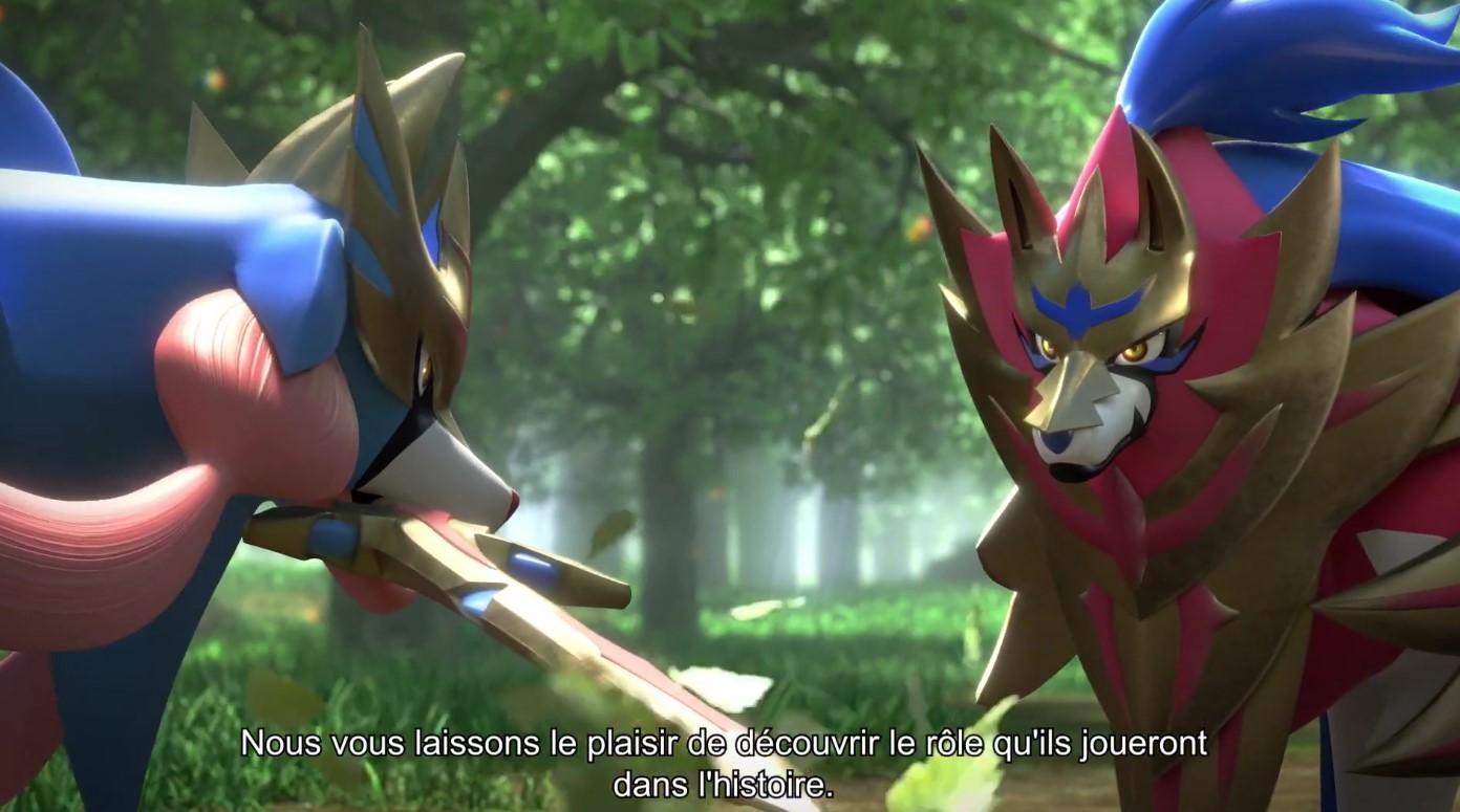 Pokémon Epée Et Pokémon Bouclier Image Des Légendaires
