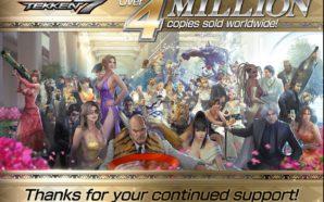 Et de 4 millions de ventes pour Tekken 7