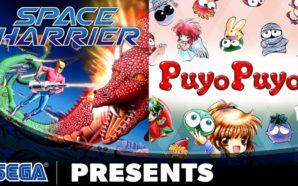 Sega Ages nous gâte avec Space Harrier et Puyo Puyo…