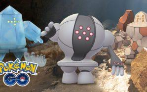 Pokémon GO : Regirock, Regice et Registeel reviennent dans les…