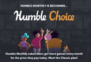 Humble monthly devient Humble Choice Humble Bundle
