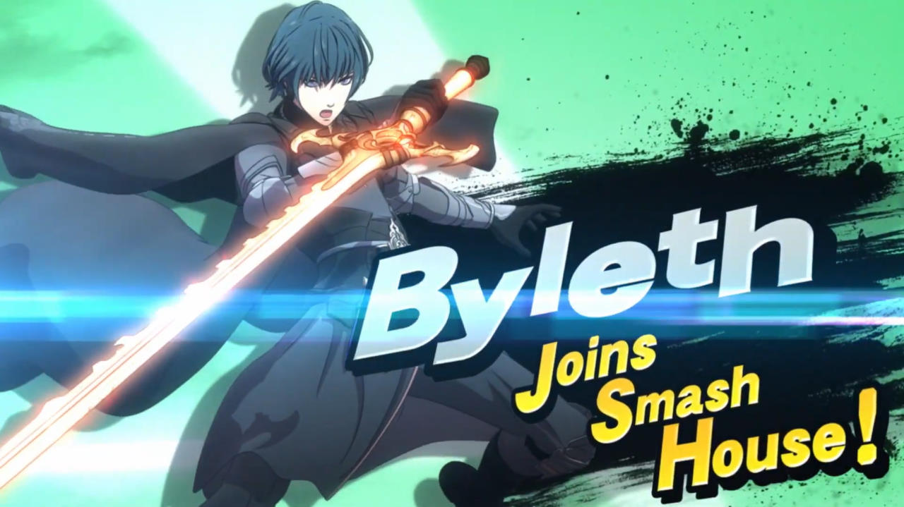 Super Smash Bros. Ultimate accueille Byleth de Fire Emblem