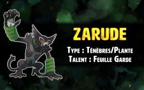 Le Pokémon fabuleux Zarude vient d'être découvert dans Pokémon Épée…