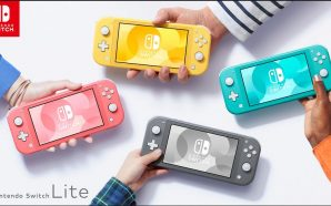 La Switch Lite voit la vie en rose (corail!)